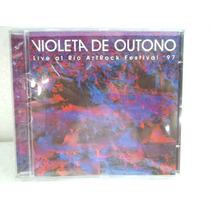 Violeta De Outono Live At Rio Art Rock Festival 97 Cd Origin
