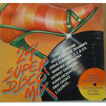 Lp (054) Coletâneas - 24 Super Disco Mix
