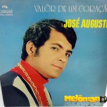 José Augusto 1971 Valor De Um Coração Lp