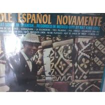 Lp Disco De Vinil Nat King Cole Cole Espanol Novamente