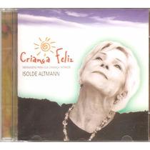 Cd Isolde Altmann - Musicais De Corciolli, Michel Freidenson