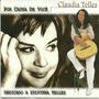 Cd Claudia Telles Por Causa De Voce Dedicado A Sylvinha Tell