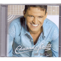 Cd Eduardo Costa - No Boteco - Novo***