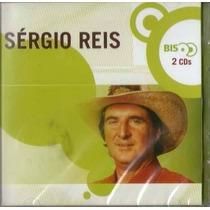 Cd - Sérgio Reis - Série Bis - Duplo E Lacrado
