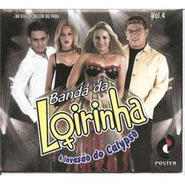 Cd Poster - Banda Loirinha - A Invasão Do Calypso - Vol. 4