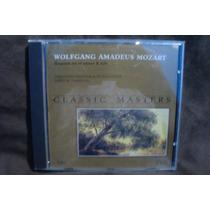 Classic Masters - W.a.mozart - Cd Nacional