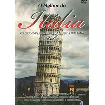 Dvd Melhor Itália Vol. 3 = 30 Sucessos Da Musica Italiana!