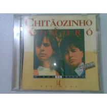 Cd Chitaozinho & Xororo Minha Historia 14 Sucessos