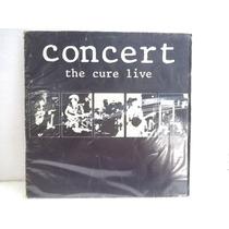 The Cure Concert The Cure Live Lp Ótimo Estado Capa Médio
