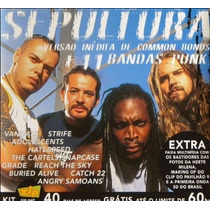 Sepultura Common Bonds + 11 Bandas Punk Cd Single Promo Trip