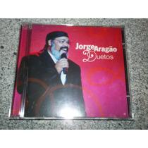 Cd - Jorge Aragao Duetos C/ Zeca Alcione Ivete Beth Fundo