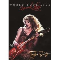 Dvd Taylor Swift Speak Now Live Original Lacrado (fearless)