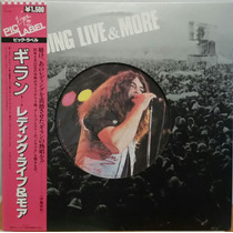 Ian Gillan Deep Purple Reading Live & More Lp Japonês!