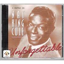 Cd Duplo O Melhor De Nat King Cole Unforgettable Cd