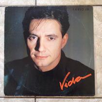 Lp Fábio Júnior - Vida - 1988 Perfeito Estado