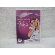 Dvd Original Violetta- Cantar É O Que Eu Sou