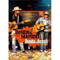 Edson & Hudson Na Moda Do Brasil Ao Vivo Dvd Lacrado
