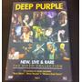 Dvd Deep Purple - New, Live And Rare