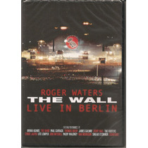 Roger Waters - Dvd - The Wall - Live In Berlin - Lacrado!!