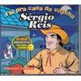 Sergio Reis Cd Single Fui Pra Casa Da Vizinha - Raro