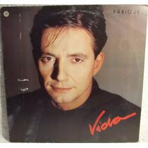 Lp Mpb: Fábio Jr. ( Júnior ) - Vida - 1988 - Frete Grátis