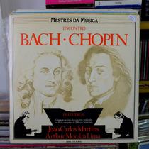 Encontro Bach Chopin Preludios Arthur Moreira Lima Duplo Lp