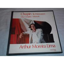 Arthur Moreira Lima Lp Vinil Chopin 16 Polonaises