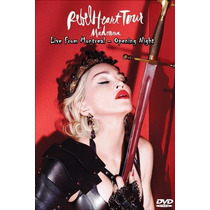 Dvd Madonna - Rebel Heart Tour Live From Montreal Full Hd
