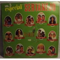 Lp / Vinil Sertanejo: Especial Sertanejo Vol.3 - 1985