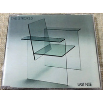 The Strokes Cd Single Promo Last Nite Adesivo Raro Nacional