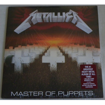 Metallica Master Of Puppets Lp Selado Made In Usa Blackened