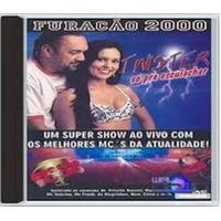 Dance Black Pop Cd Furacão 2000 Twister Só Pra Esculachar