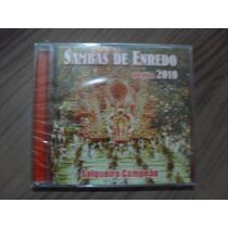 Cd Sambas De Enredo Ao Vivo 2010 Produto Lacrado