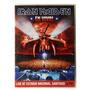 Dvd - Iron Maiden - Live At Estadio Nacional Santiago Duplo