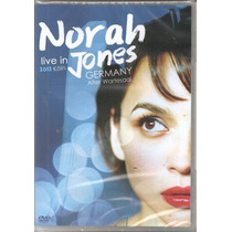 Dvd - Norah Jones - Live In Germany Koln 2012 - Lacrado