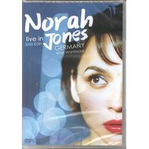 Dvd - Norah Jones - Live In Germany Koln 2012 - Lacrado