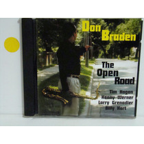Cd - Don Braden - The Open Road - Importado