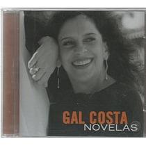 Cd Gal Costa - Novelas (novo/lacrado)