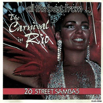Cd / The Best From The Carnival In Rio - 20 Street Sambas