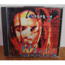 Cd Duplo Lenny Kravitz Rock And Roll Is Live - Ao Vivo 1995