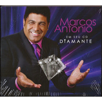 Cd Duplo Marcos Antonio - Diamante [bônus Playback]