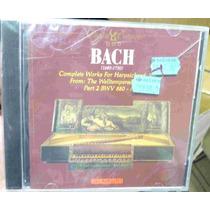 Cd Bach / Complete Works Harpsich Lacrado Frete Gratis