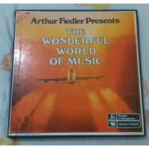 Box Lps The Wonderful World Of Music - Arthur Fiedler