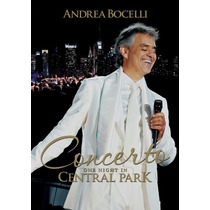 Dvd Andrea Bocelli - One Night In Central Park * Lacrado