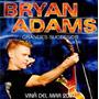 Cd - Bryan Adams - Viña Del Mar 2007- Grandes Sucessos- Lacr
