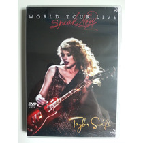 Dvd Taylor Swift World Tour Live Speak Now - Novo - Lacrado!