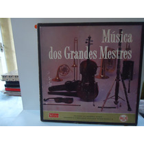 Box 12 Lp´s - Músicas Dos Grandes Mestres - Rca- Encarte