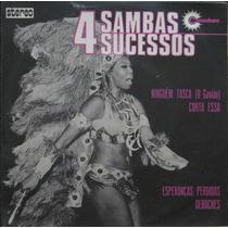 4 Sambas 4 Sucessos Compacto Conjunto Copasom Ary Cordovil