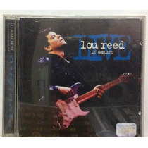 Cd Lou Reed - Live, In Concert - 1996 - Bmg