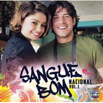 Cd Novela Sangue Bom Nacional Vol. 1 (2013) Lacrado Raridade